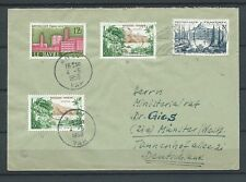 LETTRE - TIMBRES 1958