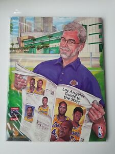 LOS ANGELES LAKERS NBA Yearbook 1999-2000, KOBE, SHAQ, PHIL FIRST CHAMPIONSHIP