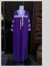New listing Women Vintage Sheer Nightgown Sz S Lingerie Peignoir Set Robe Purple Usa Union