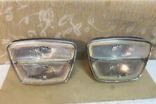 2 NOS CARELLO FRONT LIGHTS LAMPS LANCIA FLAVIA S1 Berlina Zagato Sport 1500 1800