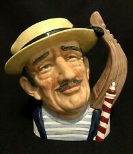 ROYAL DOULTON 'THE GONDELIER' D6589 1963 LARGE TOBY CHARACTER JUG - RARE
