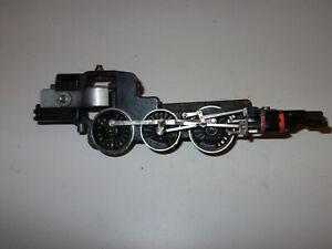 Hornby Dublo Duchess 3 rail locomotive chassis part nickel drive wheels