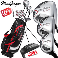 Left Hand MacGregor Cg2000 High Launch Mens Complete Golf Set Deluxe Stand Bag