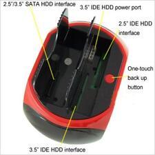 Zs- DOCK DOCKING STATION HARD DISK 3,5 2,5 SATA IDE 2 HD HDD BOX CASE USB SD TF