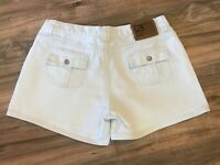 POLO JEANS CO. RALPH LAUREN WHITE JEAN DENIM Casual Shorts Women's Sz 10