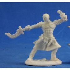 RPG Miniatures Reaper Minis Pathfinder Bones: Sajan, Iconic Monk