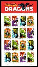 Dragons - Scott #5307-5310 - Pane of 16 stamps - MNH