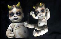 ¥ OOAK Scary Haunted Creepy Horror Gothic Occult Doll~ABBE¥S CREEP¥ DOLLS¥ 🌙
