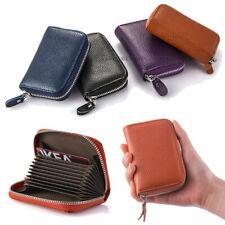 USA Women Wallet Leather Zip Coin Purse Clutch Handbag Small Mini Card Holder