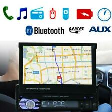 7in Touch Screen Bluetooth Car Stereo MP5 Player GPS FM Radio USB/TF/AUX w/ Map