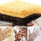 Floral Sheer Scarf Valance Tulle Voile Home Door Window Curtain Drape Panel