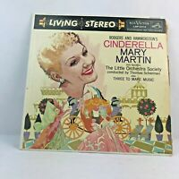 Rogers And Hammerstein's Cinderella Mary Martin The Little Orchestra Society LSP