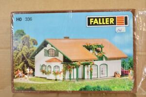 FALLER B-336 HO SCALE MODERN DETACHED COUNTRY HOUSE EXCELLENT MODEL KIT nq