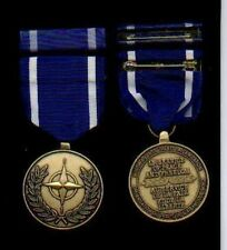 NATO Service Military Award medal with ribbon bar NATO