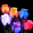 NS Rose LED Lights Flower Lamp Garden Yard Outdoor Path Lawn Power Xmas Decor