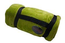 Linder 5047/80/841 Plaid Doux Polyester Vert Olive 134 x 180 cm