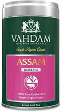 VAHDAM, Assam Tea, Tin Caddy, 100% Pure, Unblended, Single Origin Assam Black