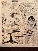 Avengers West Coast #77 p14 (1991) Splashy Foes Attack Wonder Man Scarlet Witch