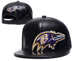 Baltimore Ravens NFL Football Embroidered Hat Snapback Adjustable Cap