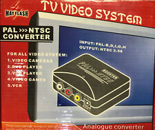 PAL to NTSC Converter Digital AV Video System Mayflash Universal NTSC to PAL