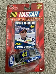 #48 Jimmie Johnson-Nascar Collector's Series 2003 Preview Die-Cast