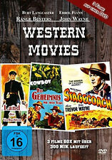 WESTERN BOX John Ford MICHAEL CURTIZ Geheimnis toten Stadt LAND VERFLUCHTEN DVD