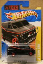 Hot Wheels - 2011 New Models ~ A Team Van ~ NEW ON CARD MINT
