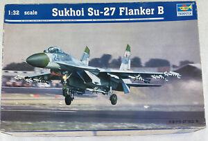Trumpeter Sukhoi Su-27 Flanker B No. 02224