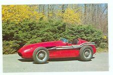 1954 Maserati 250f Grand Prix Racer (unused Nice! postcard(autoB#63*2