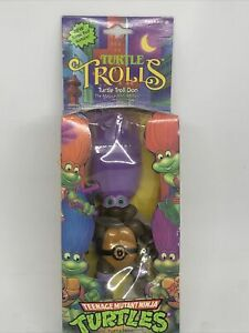 TMNT 1992 Teenage Mutant Ninja Turtles Troll Don Donatello NIB Sealed Rare!