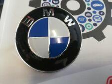 FREGIO LOGO STEMMA COFANO ANTERIORE BMW SERIE 1 E87 118D 82MM NON ORIGINALE