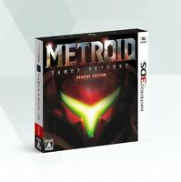 Nintendo 3DS Metroid Samus Returns SPECIAL EDITION From Japan Japanese