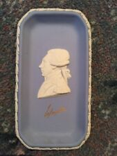 Wedgwood JASPERWARE Collectors Society Lafayette Azul Placa Rectangular/Plato