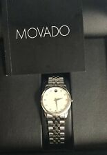 Movado 606612 Museum Watch Mother Of Pearl Diamond Dial