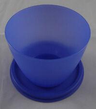 Tupperware Schüsselchen Dose Behälter Box mit Deckel 300 ml Dunkelblau Neu OVP