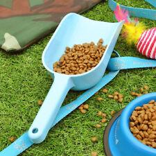 3pcs Plastic Pet Food Scoop Multi Colours  Puppy Cat Food Shovel Spoon Tool
