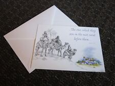 Elaine Maier Christmas Card Magi Bethlehem bible Verse Matthew 2:9 Free Ship