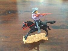 "Timpo Masked Bandit Mounted - Grey ""Ten Gallon"" Bandit Hat - Wild West"