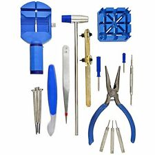 16 PCS Watch Adjust Tool Kit Repair Fix Watchmaker GIFT NEW New Gift