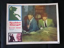 Sudden Danger 1956 BILL ELLIOTT LOBBY CARD #56/18 movie