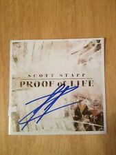 SIGNED Proof of Life by Scott Stapp Solo CD Creed Frontman SEALED