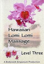 Lomi Lomi Hawaiian Massage & Spa Video On DVD - Level 3
