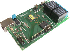 USB,Serial & I2C Multi i/o, ADC, DAC and Twin Relay BV4626