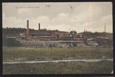 Postcard EVERETT Washington/WA  Ore Smelter Factory/Plant view 1907
