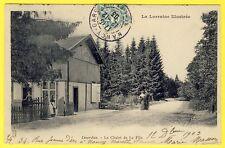 cpa Lorraine 54 - LIVERDUN Restaurant Auberge CHALET de la FLIE A. HULO Prop.