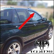 Déflecteurs de vent pluie air teintées pour BMW X5 E53 1999-2006 vitres avant