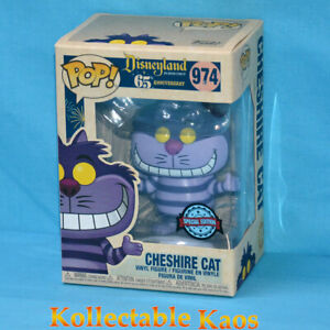Alice in Wonderland - Cheshire Cat Disneyland 65th Anniv. Pop! Vinyl (RS) #974