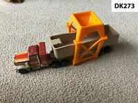 "Vintage 1983 Tonka Kenworth Semi Truck ""The Load Ranger"" Dumper & Loading Tower"
