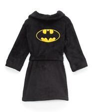 NEW BATMAN DARK KNIGHT BRUCE WAYNE Fleece Pajama Bath Robe Boy XS 4-5