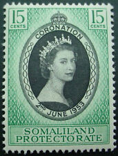SOMALILAND PROTECTORATE 1953: CORONATION OF QUEEN ELIZABETH II;  MNH STAMP